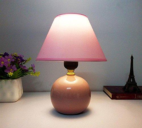 Kesierte E27 tavolo in ceramica lampade da comodino lampada da letto minimalista moderna cinese creativa del tessuto feed caldo e sveglio 13inch decorazioni piccola lampada , d