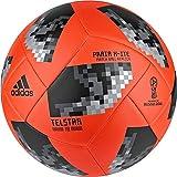 adidas Herren FIFA World Cup Ball Red/Black/Silver Metallic 5