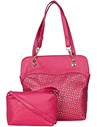 ADISA AD3022 Women Handbag With Sling Bag Combo