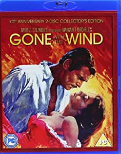 Gone With The Wind [Blu-ray] [1939] [Region Free]