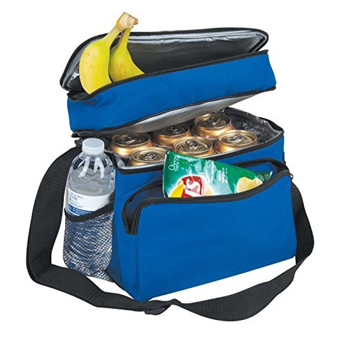 10-deluxe-cooler-reusable-lunch-bag-8-can-insulated-with-carry-handle-shoulder-strap-royal-by-proequ