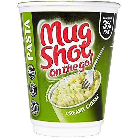 Mug Shot Formaggio Cremoso Pasta (68g) (Confezione da 2)