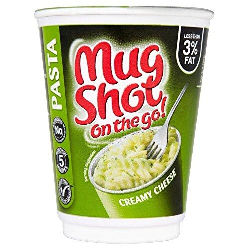 Mug Shot Sur Les Pâtes De Fromage Crémeux Go (68G)