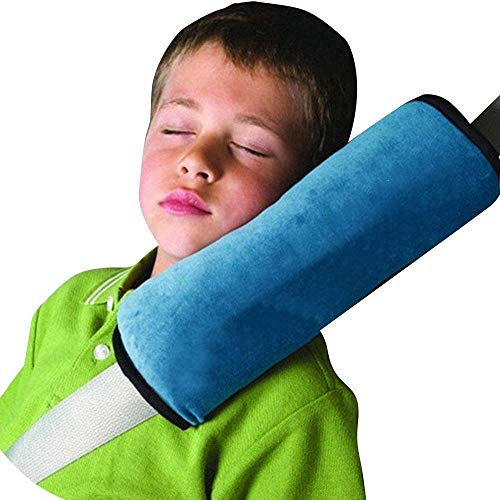Zwei Überdimensionale Gurt Schulterpolster, Kinder Fahrsicherheits Schutz, Auto Kinder-Walker-Auto-Sitzgurt Schulterpolster Kopf-Und Nackenstütze