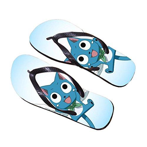 Bromeo Fairy Tail Anime Unisex Flip Flops Zehentrenner Flip Pantoffeln 9