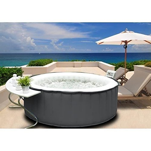 MSPA M-011LS Piscine Gonflable Mixte Adulte, Multicolore