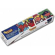 Jovi 724898 - Pack de 5 botes de témpera escolar, 35 ml, multicolor