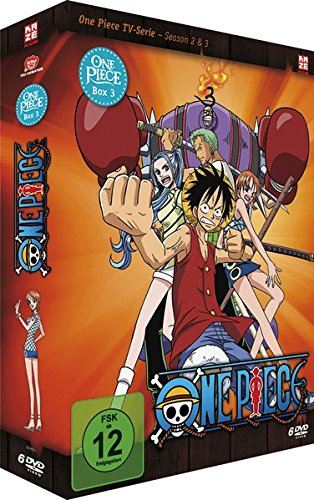 One Piece - Box 3: Season 2 & 3 ...