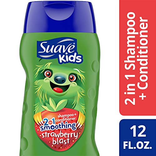 Suave Kids 2 in 1 Shampoo Smoothers Fairy Berry Strawberry 355 ml