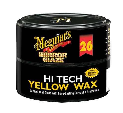 Meguiars Hi Tech Yellow Canauba Wax sorgt für ultimativen Hochglanz