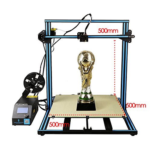 SainSmart x Creality 3D Drucker CR-10 mit beheiztem Bett Hochpräzise Plus Large Druckgröße: 500X500X500mm