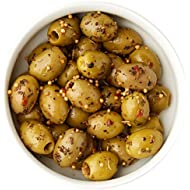Whole Foods Market Athos Olives with Sicilian Herb, 150 g
