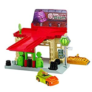 Teenage Mutant Ninja Turtles T-Machines Sewer Gas Station Playset