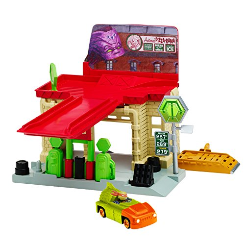 Turtles T-Machines Sewer Gas Station Playset ()