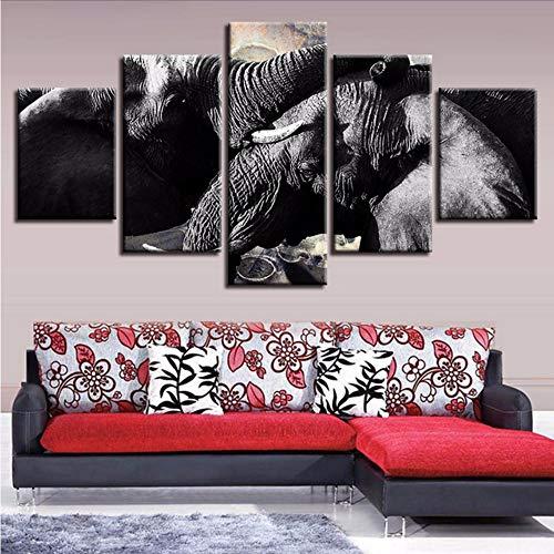 Wuwenw Imagen En Blanco Y Negro Decoración De Arte En La Pared...