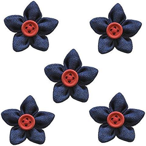 Jelinda Hombre Cierre De Mariposa hecha a mano de flores de Pin de solapa Boutonniere para traje boda Business
