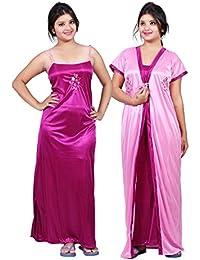Amazon.in  Satin - Nighties   Nightdresses   Sleep   Lounge Wear ... b2aff9dba