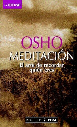 Meditacion (Biblioteca Edaf De Bolsillo) por Osho