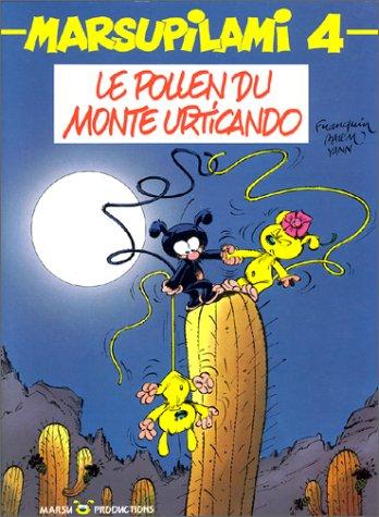 Le Marsupilami, tome 4 : Le Pollen du Monte Urticando