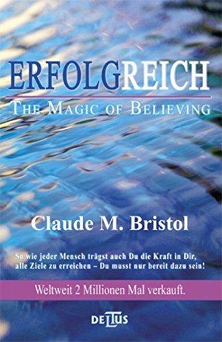 Erfolgreich The Magic Of Believing Die Kraft Des Kosmischen