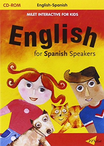 Milet Interactive For Kids Cd - English For Spanish Speakers por Milet Publishing