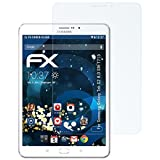 atFolix Panzerfolie für Samsung Galaxy Tab S2 8.0 (SM-T715) Folie - 2 x FX-Shock-Clear stoßabsorbierende ultraklare Displayschutzfolie