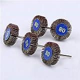 5PCS Dremel accessori set di dischi abrasivi abrasivi carta abrasiva lucidatura ruota