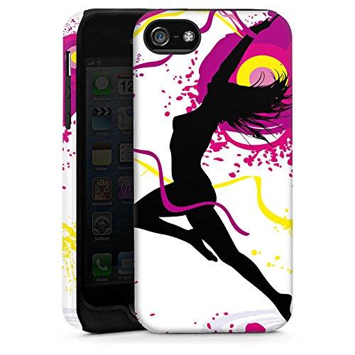 Apple iPhone 6 Housse Étui Silicone Coque Protection Femme Femme Danser Cas Tough brillant