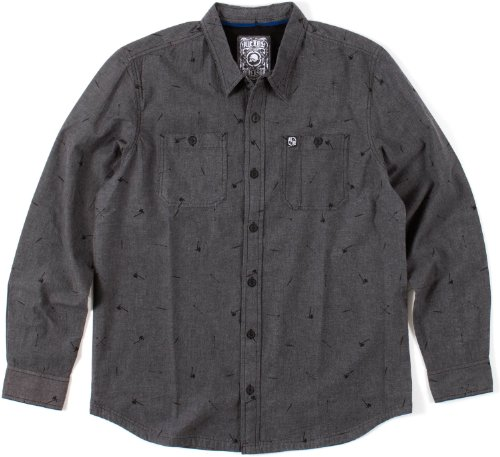 Metal Mulisha -  Camicia Casual  - Uomo Charcoal