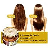 Hair Masque-60ml Magical argan oil Traitement Nourrissant Doux Lisse Réparation...