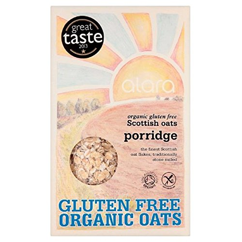 Alara Organic Gluten Free Scottish Oats Porridge 500g
