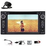 Stereo Radio Récepteur GPS Navi de voiture Bluetooth Monitor Headunit voiture pour Toyota Corolla EX VIOS RAV4 2004-2013 USB SD voiture lecteur DVD Vidéo FM AM Autoradio Audio numérique iPod HD CAM