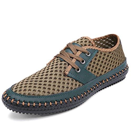 Herren Casual Shoes Sommerschuhe Mode Atmungsaktive Mesh 38-48 Schuhe - Breite Breite Womens Golf Schuhe