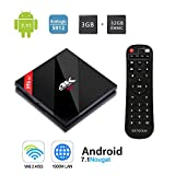 H96 Pro Plus TV Box Android 7.1 mit Amlogic S912 Octa-Core 64 Bits CPU 3GB RAM 32GB ROM TV Box mit 4k Ultra HD H.265 Ethernet 100M/1000M 2.4GHz/5GHz Dual WiFi Bluetooth 4.1