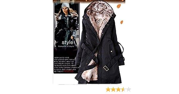Pelzmäntel Preis Baumwolle Jacke aus Kleidung Winter Mantel Kunstfell Pelz Damen Frauen Besten Hoodies Parkas Futter warm langen thermische QsrhBtdCx