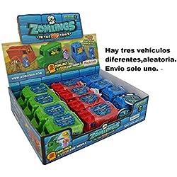 Zomlings 14913 Serie 5 Big ZOM - Juego DE 12 Juguetes para vehículos