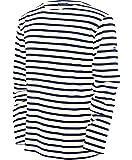 Saint James MINQUIERS- Streifenshirt - Bretagne-Shirts (XXL, Ecru Marine)