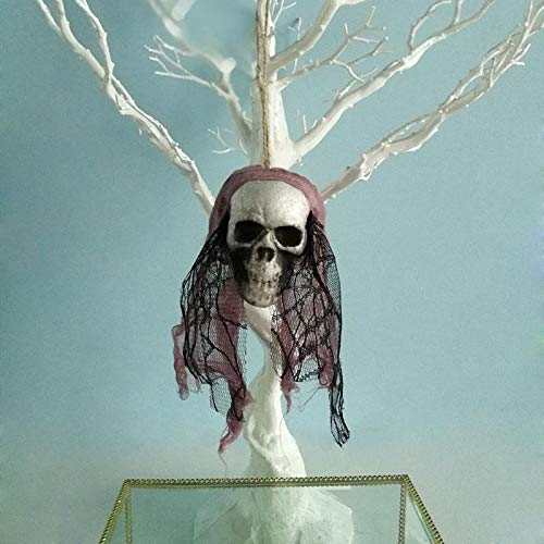 s - Halloween Hanging Decor Pirates Corpse Skull Haunted House Bar Home Garden Arrival - Decorations Party Party Decorations Artificial Rainbow Fairy Bloody Costume Ru ()