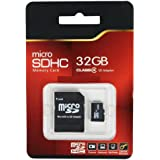 TakeMS Carte mémoire microSDHC avec 2 adaptateurs Classe 4 32 Go (Import Royaume Uni)