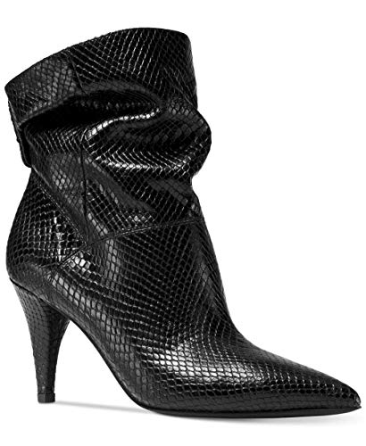 Michael Michael Kors Frauen Carey Spitzenschuhe Leder Fashion Stiefel Schwarz Groesse 5 US /35.5 EU
