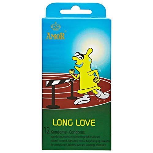 AMOR® Long Love Sparpaket 5x12 aktverlängernde Kondome