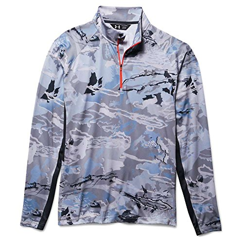 Under Armour – Maglietta Coolswitch Thermocline 1/4 zip Ridge Reaper&Reg; Hydro/Toxic