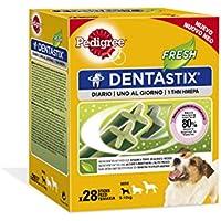 Dentastix Fresh Premios para Perros Pequeños de Higiene Oral contra el Mal Aliento Uso Diario - [Pack de 4]