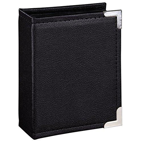 """Hama Einsteckalbum \""""New York City\"""" (für 200 Fotos im Format 10x15, schwarze Innenseiten, 2 Einsteck-Taschen pro Seite) Foto-Album schwarz"""