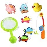 Bad Angeln Spielzeug mit Schwimmenden Fisch Badespaß Zeit - Best Reviews Guide