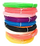 #3: Medonna Shoppe Plastic Broom Wires For Craft Works, Basket Making - Pack Of 3 Colours (Red, Blue, White Colours)