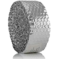 SuperFOIL Pipe Insulation Foil (7.5m x 8cm) - 3mm Heat Reflective Reflector Bubble Wrap | Save Energy, Save Money & Reduce Pipe Noise - Water & Corrosion Resistant - ukpricecomparsion.eu
