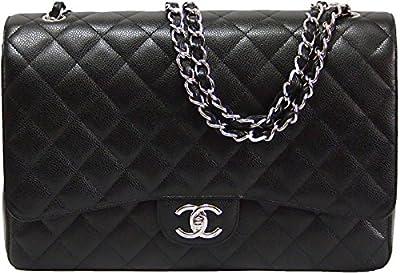 Chanel - Bolso de asas para mujer negro