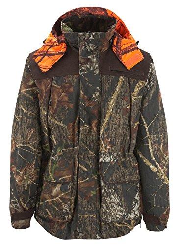 NEU! Shooterking - Mossy Winter Jacket Jagdjacke Drückjagdjacke Winterjacke Wendejacke Orange/ Camouflage Größe 3XL