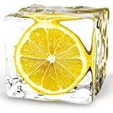 Eurographics DG-AU2101 Glasbild Deco Glass Iced Lemon 20 x 20 cm